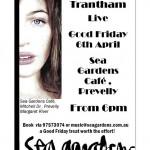 Paige Trantham Live on the Verandah @Sea Gardens – 6th April 2012