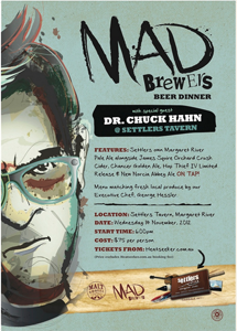 Mad Brewer's Beer Dinner