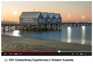 1001 Extraordinary Experiences WA