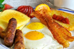 delectable sausage sizzle