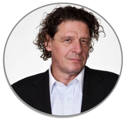 AN AUDIENCE WITH MARCO PIERRE WHITE PRESENTED BY MIELE