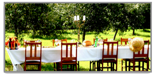 OLIO BELLO 'UNDER THE TUSCAN SUN' LONG TABLE LUNCH