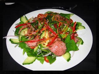 mr venison thai venison salad